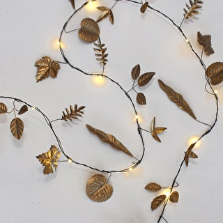 Golden Leaves Light String