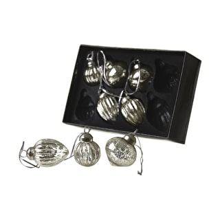 Antiqued Silver Decorations