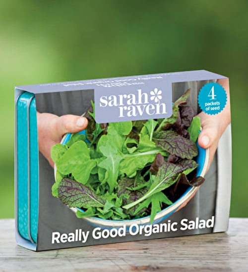 Really Good Organic Salad Seed Collection