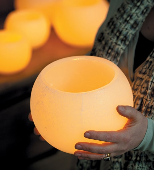 Wax Tealight Holder Globes