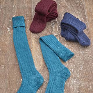 Long Mohair Socks