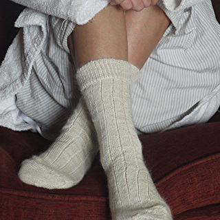 Mohair Bedsocks