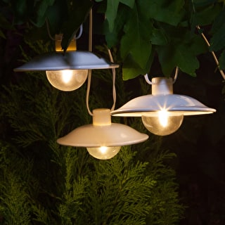 Saucer Solar Light String