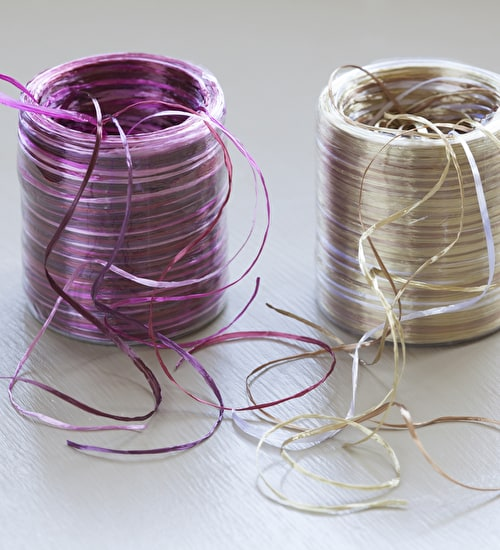 Multi-coloured Wrapping Ribbon