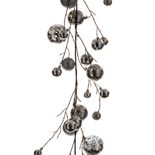 Bauble Garland with Lights