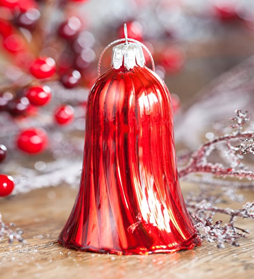 Glass Bell Decoration