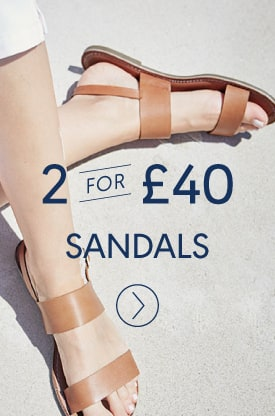 2 for £40 Sandals