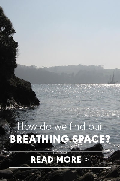 How do we find our Breathing space? Read more