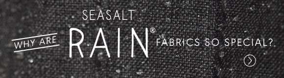 What makes Seasalt raincoats so special? Read about the fabrics we use here