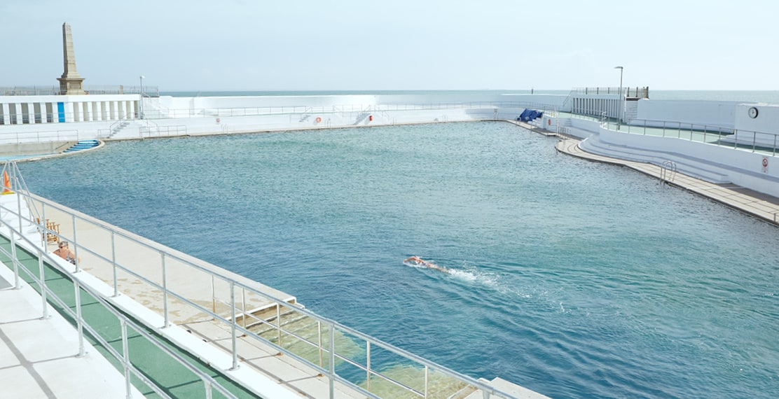 Scenic photo of Jubilee Pool in Penzance.
