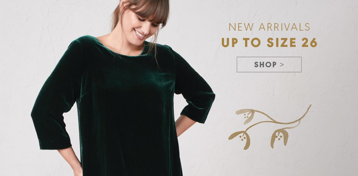 New Arrivals, Up to Size 26