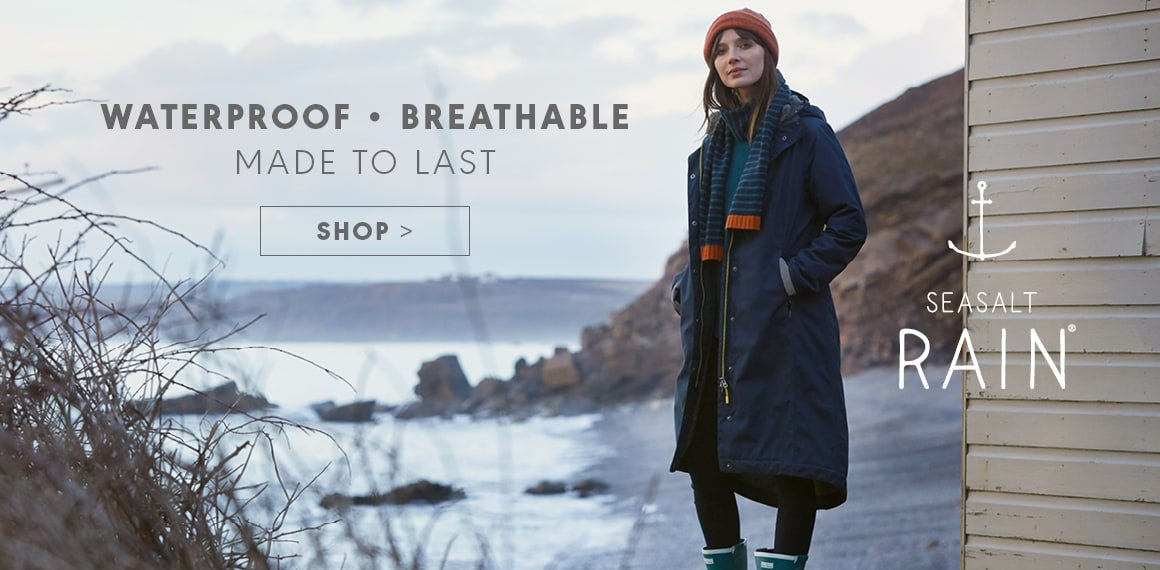 Waterproof, Breathable, Made to last. Shop