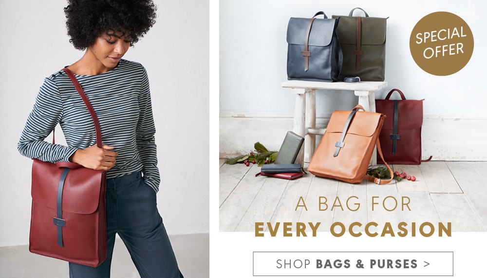 Shop bags and purses