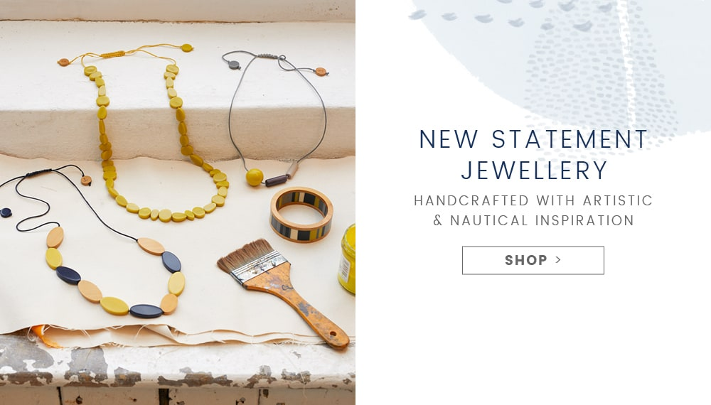 A selection of statement jewellry