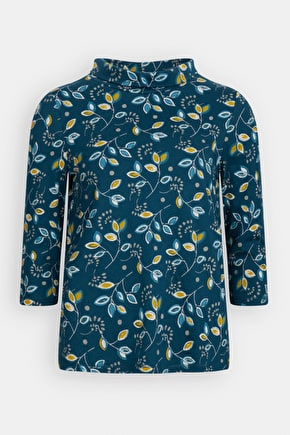Sea Kale Top, A Smart Organic Cotton Jersey Shirt