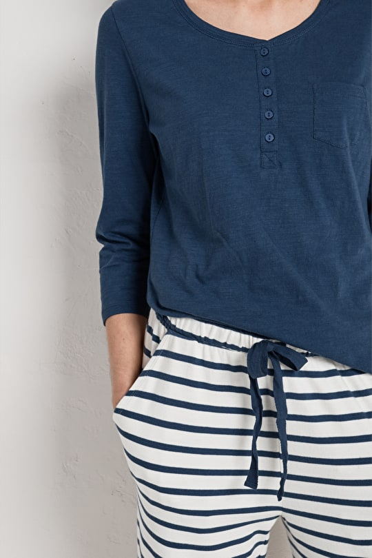 Organic Sub Cotton Top. Perfect Loungewear - Seasalt
