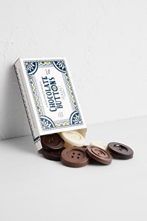 Box of Milk, Dark & White Chocolate Buttons - Seasalt Cornwall