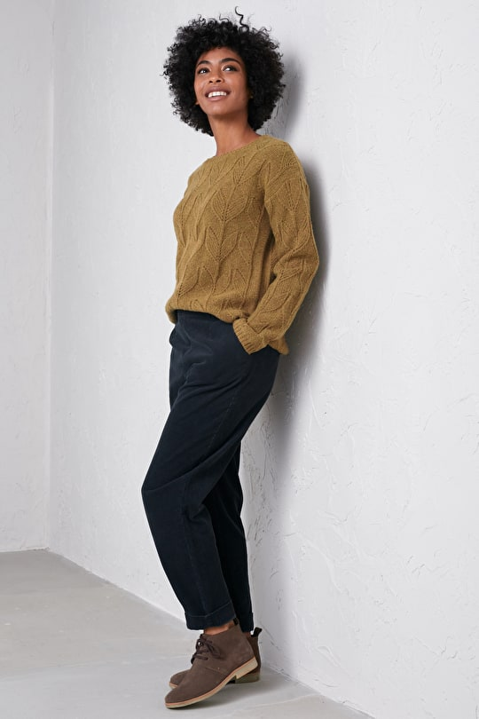 Villanelle Jumper, Relaxed Crew Neck - Seasalt Cornwall