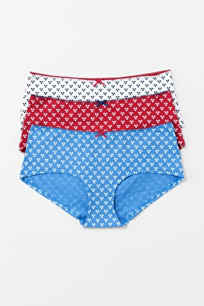 Nauti Knickers Gift Box. Patterned cotton knickers - Seasalt