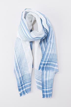 Smugglers Scarf, Striped Lightweight Scarf - Seasalt