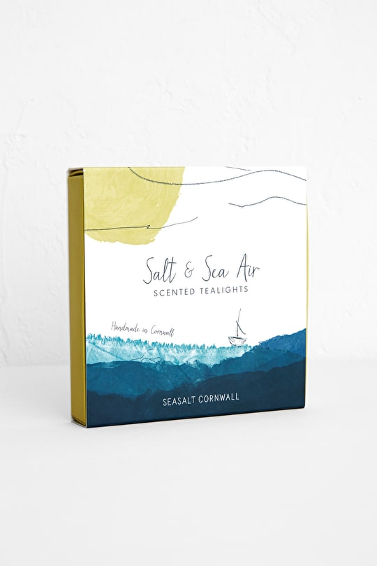 Salt & Sea Air Scented Tealights