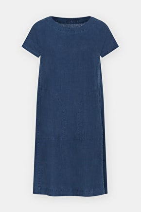 Primary Dress, Linen A-line Long Dress - Seasalt