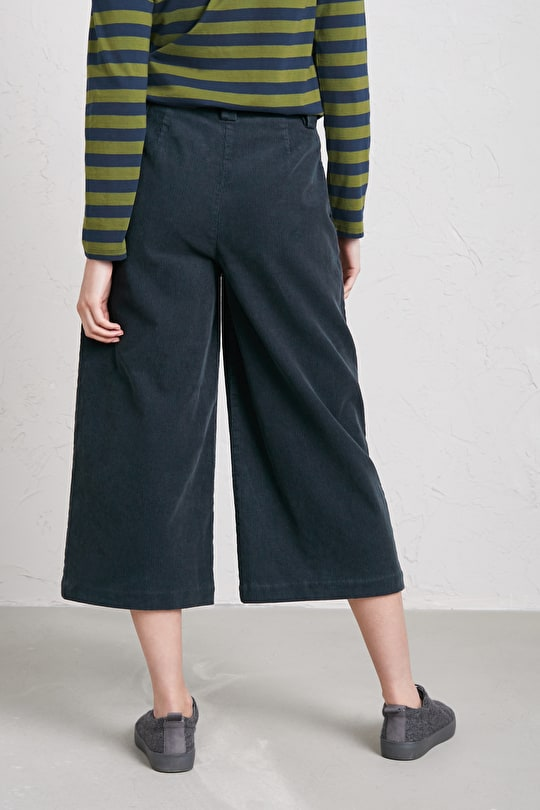 Crooklets Culottes, Cotton Corduroy Trousers - Seasalt