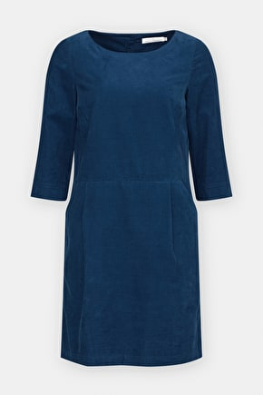 Light Shadow Dress, Soft Blue Corduroy - Seasalt