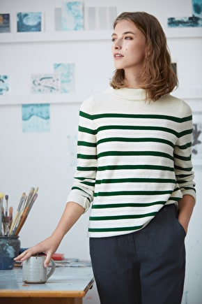 Between Tides, Knitted Breton Jumper  - Seasalt Cornwall