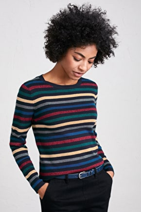 Revel Jumper, Sparkly Christmas Crew Neck - Seasalt Cornwall