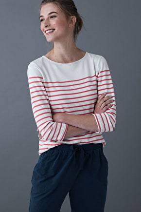 Jersey Cotton Top. Designed For Relaxing - Seasalt
