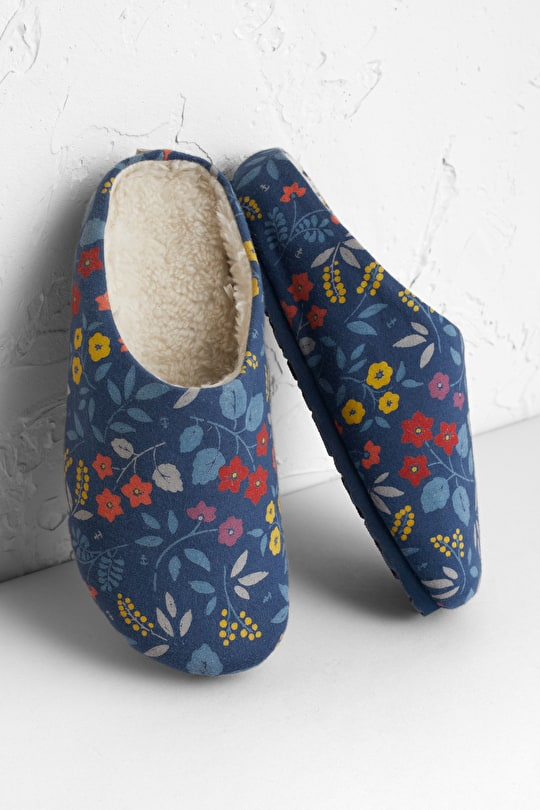 Nightjar Fleece-lined Slippers  - Seasalt