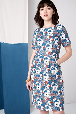 Porthmeor Beautiful Long Linen Dress - Seasalt