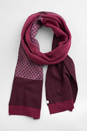 Afternoon Ramble Scarf, Soft Wool Mix - Seasalt