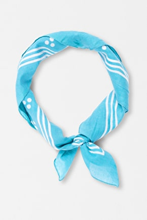 Sailor Square. Cotton Polkadot Neck Scarf - Seasalt