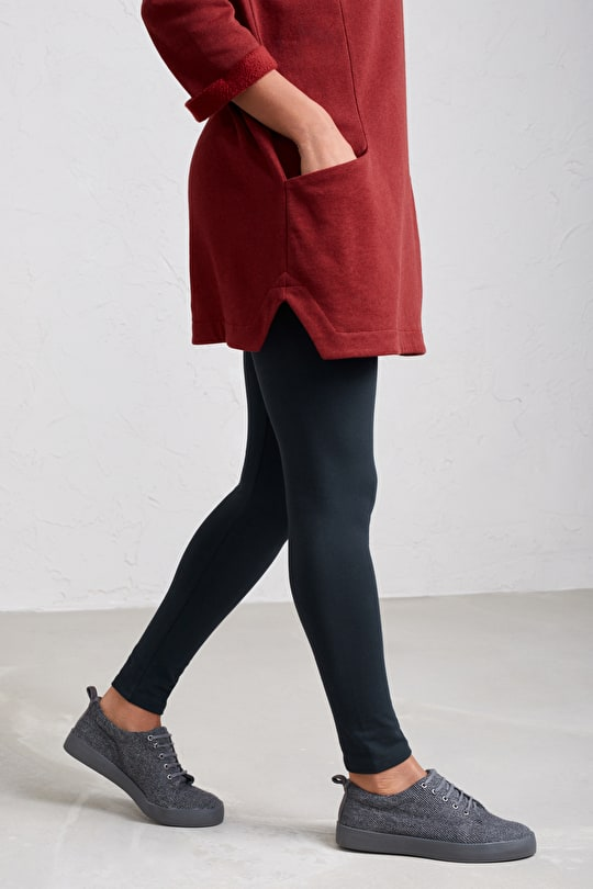 Very Soft Opaque Cotton Leggings. Perfect Everyday - Seasalt