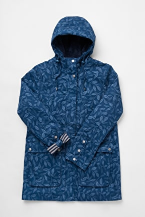 Maenporth Coat, Heritage Waterproof Cotton Raincoat