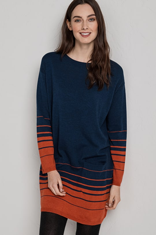 Beautifully Soft Jumper Dress. 100% Merino Wool - Seasalt