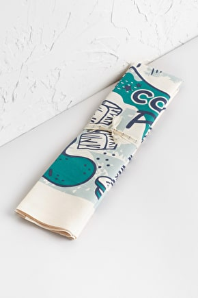 Organic Cotton Graphic Tea Towel - Seasalt Cornwall