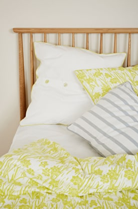 Print & Plain Cotton Euro Pillowcase