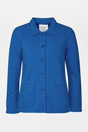 100% Cotton,  Casual Womens Etching Jacket - Seasalt