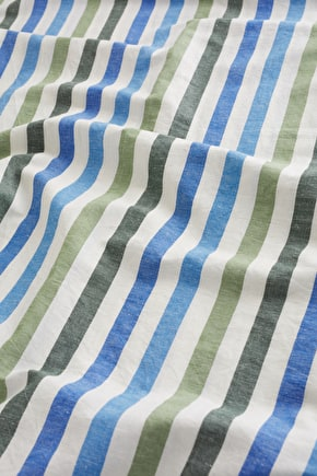 Cotton Linen Fabric - Seasalt