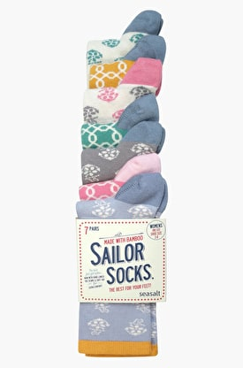 Sailor Socks Waterfall 7 Pack