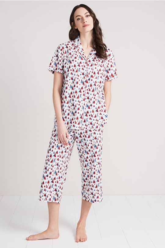 Cosy Corner, Organic Cotton Pyjamas - Seasalt