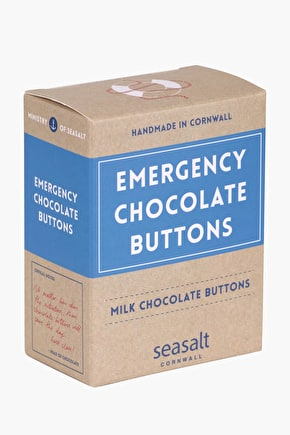 Emergency Chocolate Buttons - Handmade in Cornwall - Seasalt