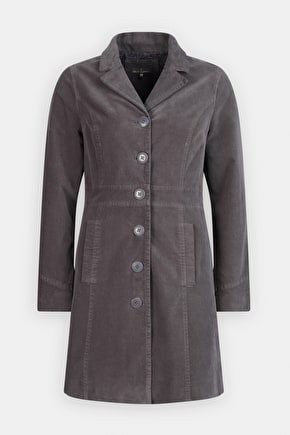Super Flattering & Smart Velvet Winter Coat - Seasalt