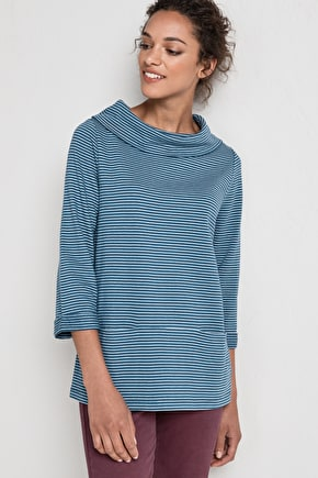 Brehat Sweatshirt , Roll Neck Jumper - Seasalt
