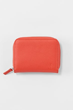 Beautiful Soft Leather Polgooth Purse - Seasalt