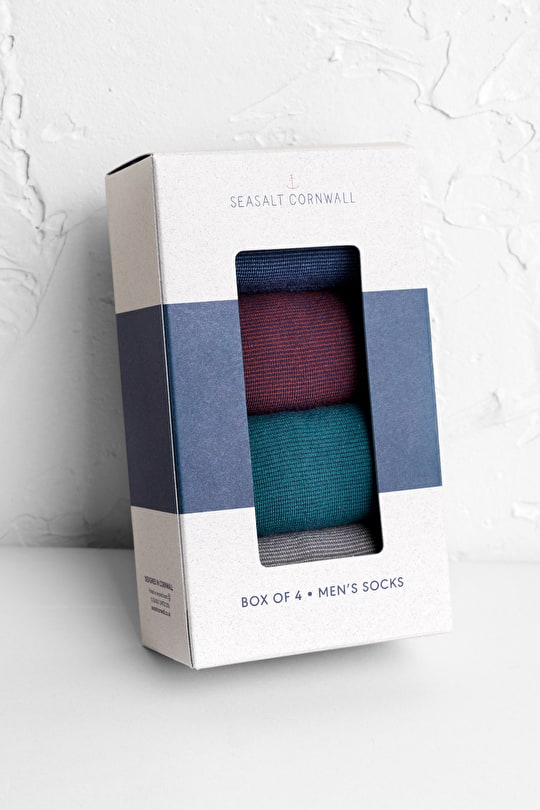 Smart Gift Box Of Quite Possibly The Best Socks - Seasalt