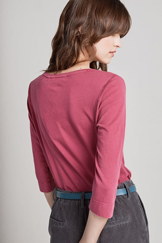 Colourful Cotton Top. Perfect Outfitting Piece - Seasalt